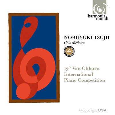 13th International Van Cliburn Competition. Gold Metal