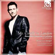 Mr Corelli in London <br />